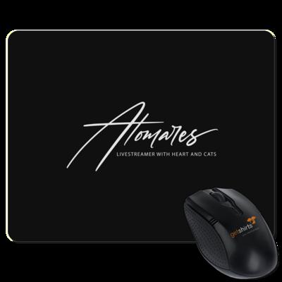Motiv: Mousepad Textil - Atomares Font Logo