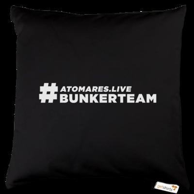 Motiv: Kissen Baumwolle - #BunkerTeam