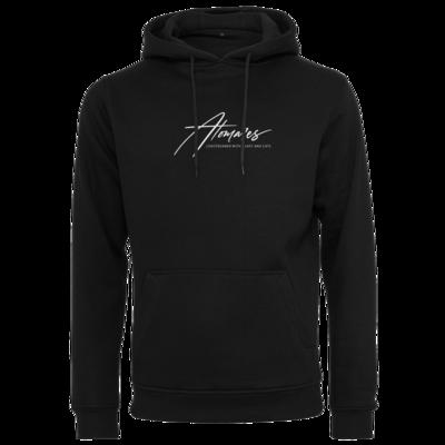 Motiv: Heavy Hoodie - Atomares Font Logo
