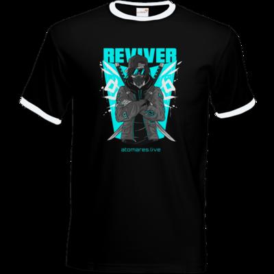 Motiv: T-Shirt Ringer - BunkterTeam - Reviver