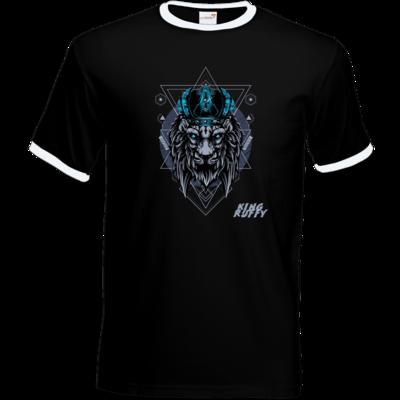 Motiv: T-Shirt Ringer - King Ruffy