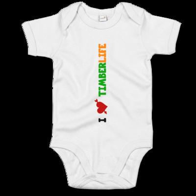 Motiv: Baby Body Organic - I love TimberLife - vertikal