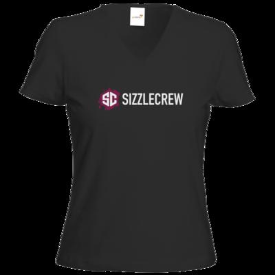 Motiv: T-Shirt Damen V-Neck Classic - SizzleCrew