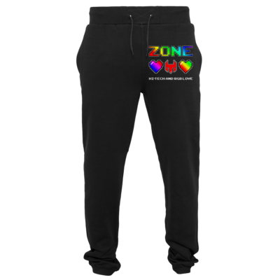 Motiv: Heavy Sweatpants - HI-TECH and RGB Love