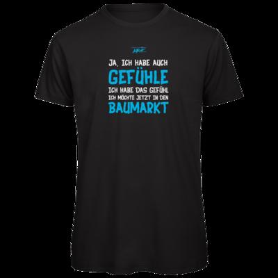 Motiv: Organic T-Shirt - Ich habe auch Gefühle