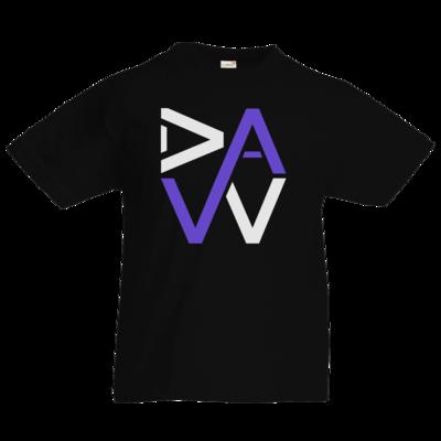 Motiv: Kids T-Shirt Premium FAIR WEAR - DaW Logo Lila