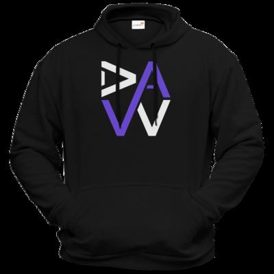 Motiv: Hoodie Premium FAIR WEAR - DaW Logo Lila