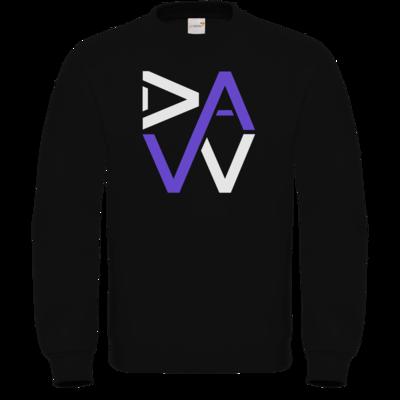Motiv: Sweatshirt FAIR WEAR - DaW Logo Lila