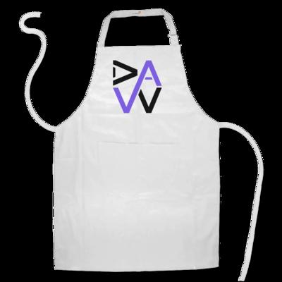 Motiv: Schürze - DaW Logo Lila