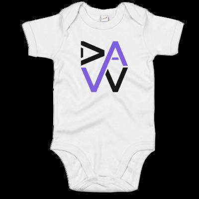 Motiv: Baby Body Organic - DaW Logo Lila