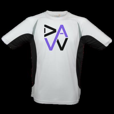 Motiv: Laufshirt Running T - DaW Logo Lila