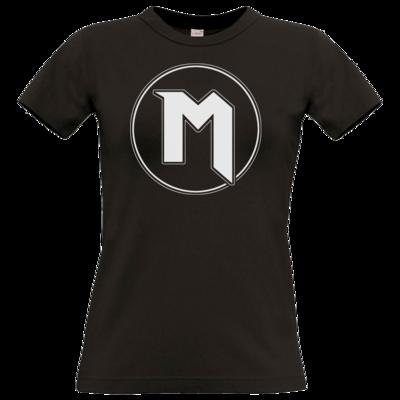 Motiv: T-Shirt Damen Premium FAIR WEAR - M Logo