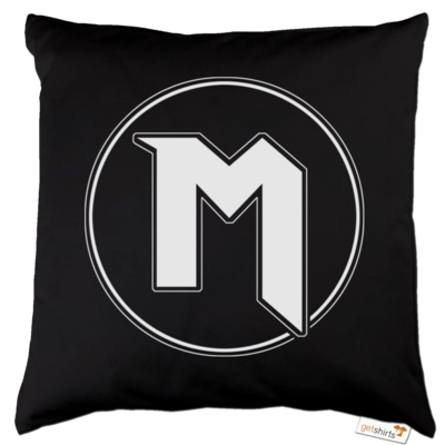 Motiv: Kissen Baumwolle - M Logo