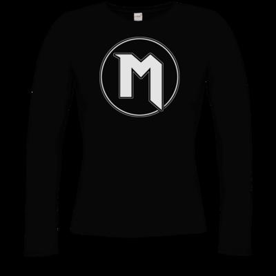 Motiv: Longsleeve Damen Organic - M Logo