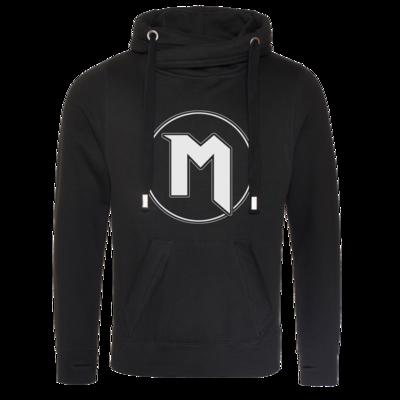 Motiv: Cross Neck Hoodie - M Logo