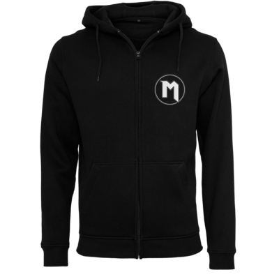 Motiv: Heavy Zip-Hoodie - M Logo