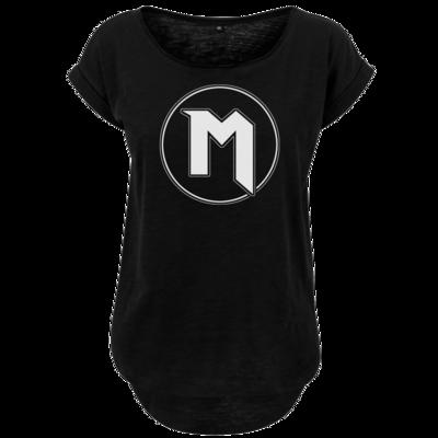 Motiv: Ladies Long Slub Tee - M Logo
