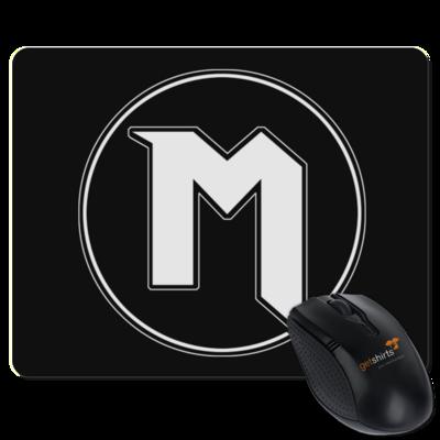 Motiv: Mousepad Textil - M Logo