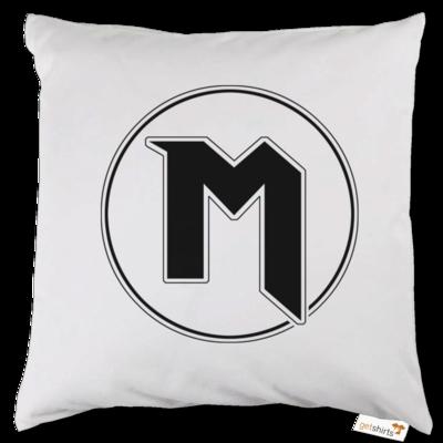 Motiv: Kissen - M Logo