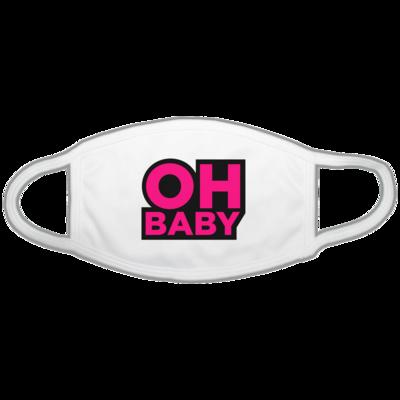 Motiv: Gesichtsmaske - Oh Baby