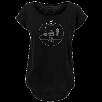 Motiv: Ladies Long Slub Tee - Lighthouse