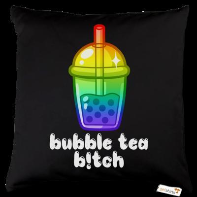 Motiv: Kissen Baumwolle - Bubble Tea B!tch