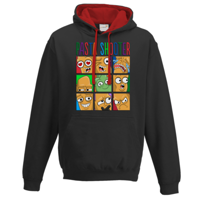 Motiv: Two-Tone Hoodie - Face Off