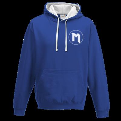 Motiv: Two-Tone Hoodie - M Logo