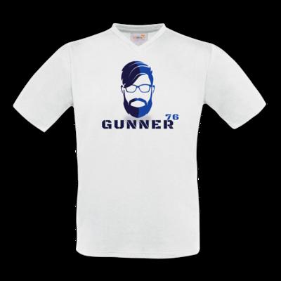 Motiv: T-Shirt V-Neck FAIR WEAR - GUNNER76 Kopf
