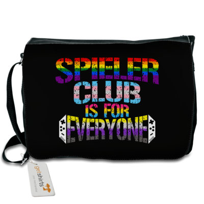 Motiv: Schultertasche - SC is for everyone!
