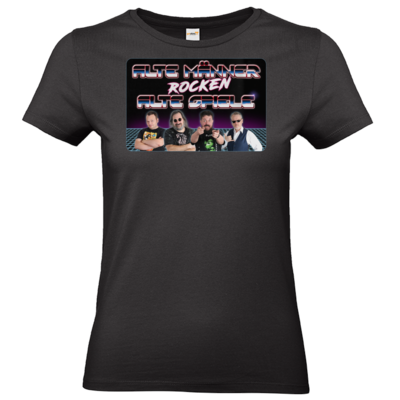 Motiv: T-Shirt Damen Premium FAIR WEAR - Alte Männer rocken alte Spiele