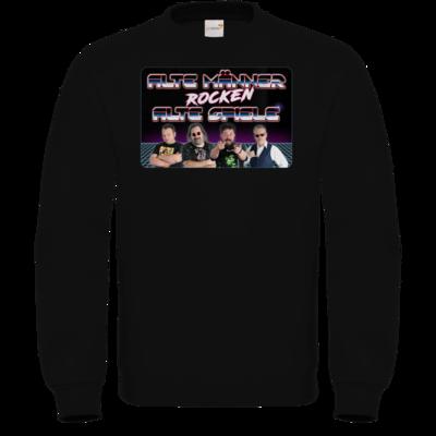 Motiv: Sweatshirt FAIR WEAR - Alte Männer rocken alte Spiele