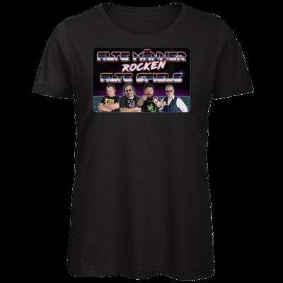 Motiv: Organic Lady T-Shirt - Alte Männer rocken alte Spiele