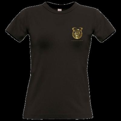 Motiv: T-Shirt Damen Premium FAIR WEAR - Erdenstern  Into The Dark