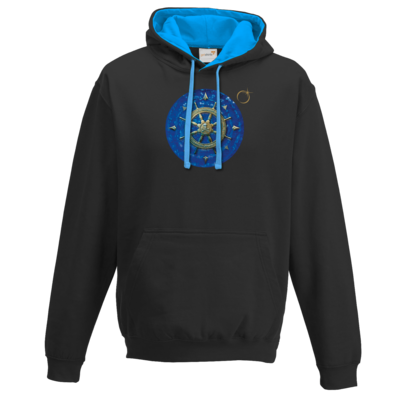 Motiv: Two-Tone Hoodie - Erdenstern Into The Blue