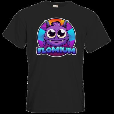 Motiv: T-Shirt Premium FAIR WEAR - FLOMIUM Logo