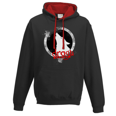Motiv: Two-Tone Hoodie - DraguGaming Logo