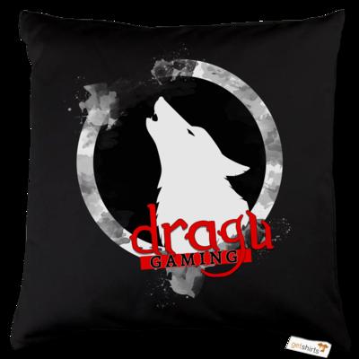 Motiv: Kissen Baumwolle - DraguGaming Logo