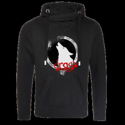 Motiv: Cross Neck Hoodie - DraguGaming Logo