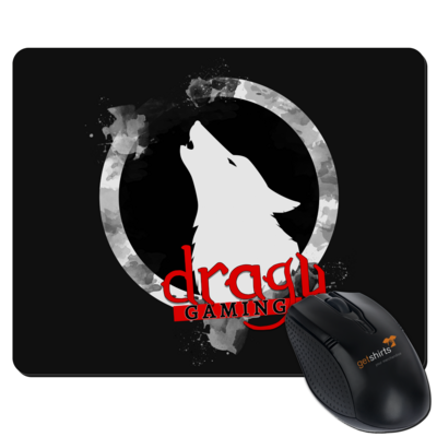 Motiv: Mousepad Textil - DraguGaming Logo