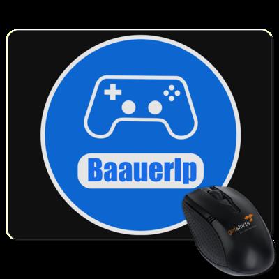 Motiv: Mousepad Textil - BaauerLP_Logo