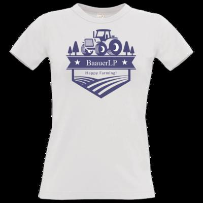 Motiv: T-Shirt Damen Premium FAIR WEAR - BaauerLP-wappen