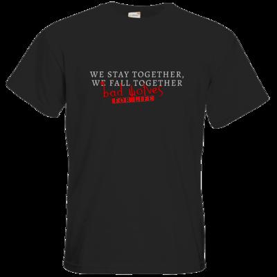 Motiv: T-Shirt Premium FAIR WEAR - bad wolves