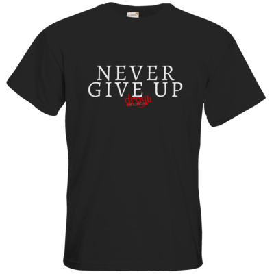 Motiv: T-Shirt Premium FAIR WEAR - Never give up