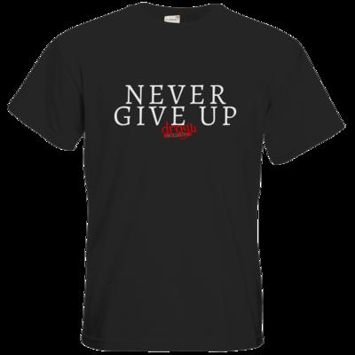 Motiv: T-Shirt Premium FAIR WEAR - Never give up
