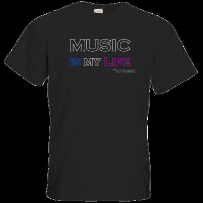 Motiv: T-Shirt Premium FAIR WEAR - Music is my life