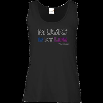 Motiv: Tank Top Damen Classic - Music is my life