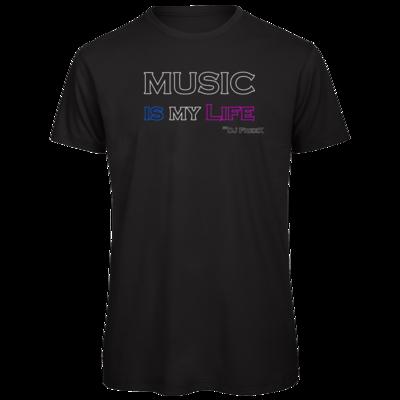 Motiv: Organic T-Shirt - Music is my life