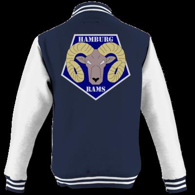 Motiv: College Jacke - Shadowrun (r) - Hamburg Rams