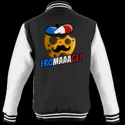 Motiv: College Jacke - Fromaaage